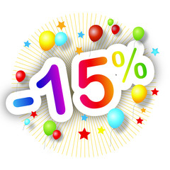 Promotions estivales -15%