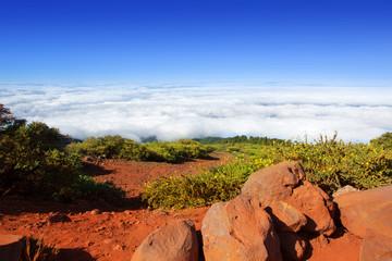 Caldera de Taburiente sea of clouds La Palma
