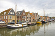 Old port in Monnickendam, The Netherlands