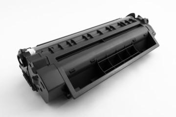 black toner container for copy machine