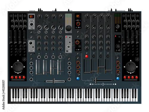 Music controller, mixer