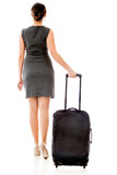 Woman on a business travel
