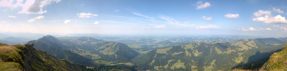 Alps | Alpen (Bavaria) - Panorama