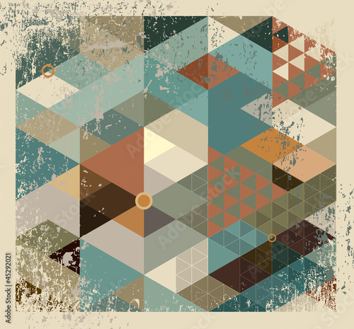geometric background © Anelina