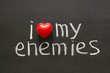 love my enemies