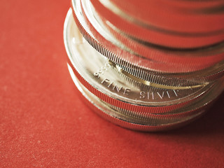 Fine silver coins