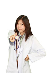 healty woman doctor
