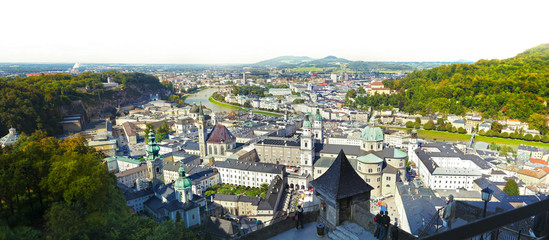 Panoramic view - Salzburg