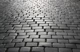 Fototapety Cobblestone pavement.
