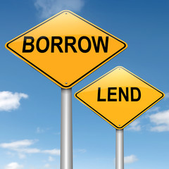 Lend or borrow.