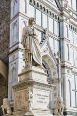 florence statue of Dante Alighieri