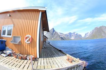 Cabin of Sakrisøy