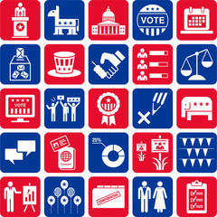 Icons of politics and American Elections