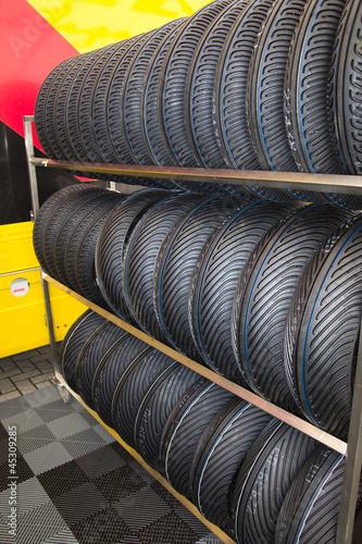Rack tires
