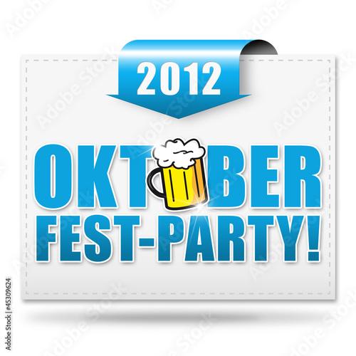 Oktoberfest-Party! 2012