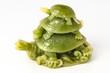 Lucky  jade frog symbol of prosperity