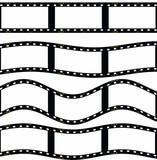 film strip illustration isolated on white background