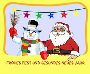 Weihnachtsgruss deutsch
