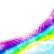 Abstract Graphics Lines_Rainbow.