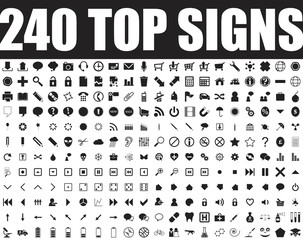 240 top signs