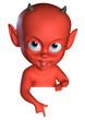 Halloween  devil boy