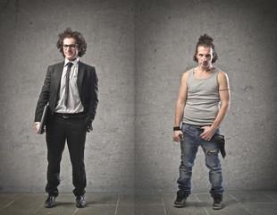 Businessman Vs Unemployed