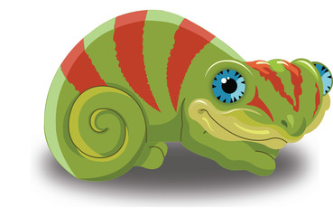 Chameleon, illustration