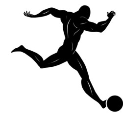 Soccer, illustration