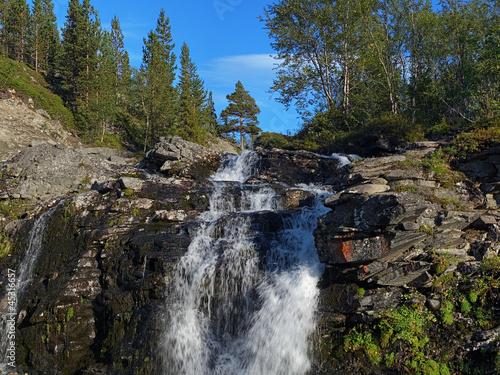 Fototapeten,wasserfall,fluß,cascade,wasser