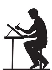 Artist, illustration