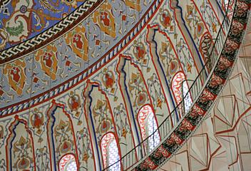 Mosque interior,details