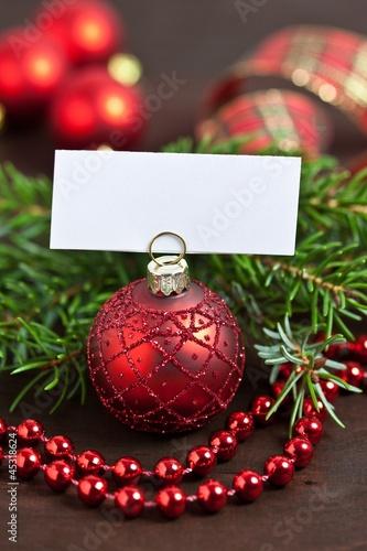 Papiers peints Table preparee Christmas place card