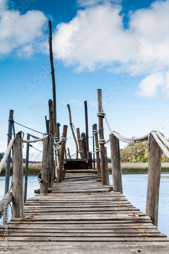 Gangway over the water © dunga