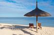 vacances à la plage, île Maurice