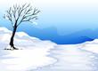 landcape with ice