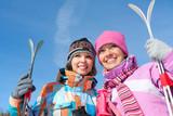 Fototapety winter sport