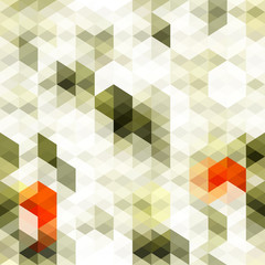 abstract white triangle seamless