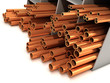 3d Rack of copper piping