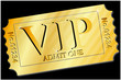 Ticket - VIP in Gold