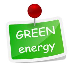 Label green energy