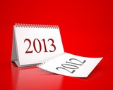 New Year 2013 Calendar