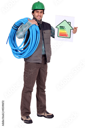 Energy efficient plumber