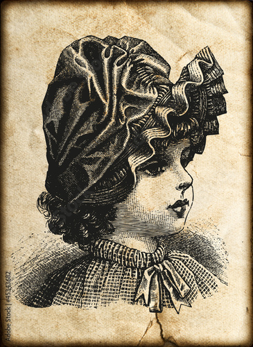 grungy vintage paper card. abstract background © LiliGraphie