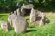 Prehistiric Dolmen in Normandy, France