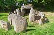 Prehistiric Dolmen in Normandy, France