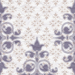 The pattern on vintage background