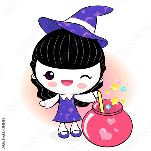Love potions to make little witch. Little Witch Character