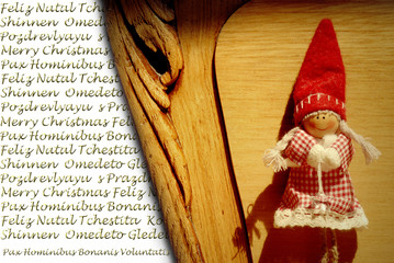 Christmas greeting in many languages, Elf Christmas