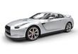 Silver Sports Car 2