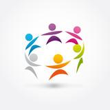 Fototapety logo association, association